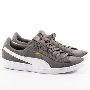 Women's Puma Suede Sneaker Everyday Shoes Gray 8.5